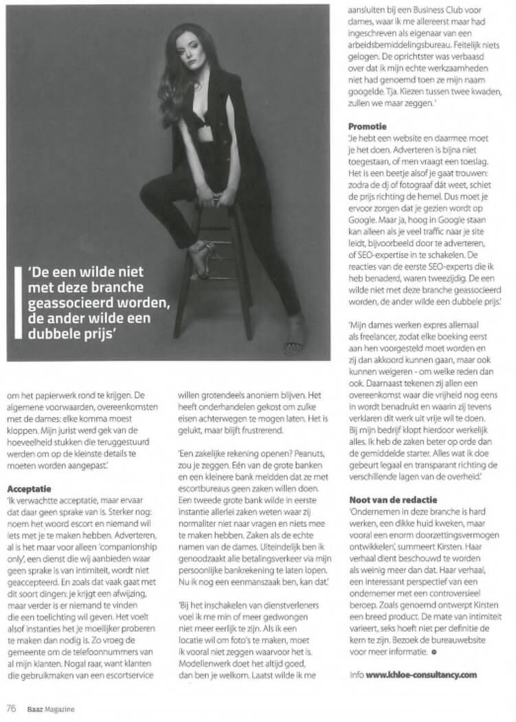 Artikel KHLOÉ Consultancy - Baaz 2