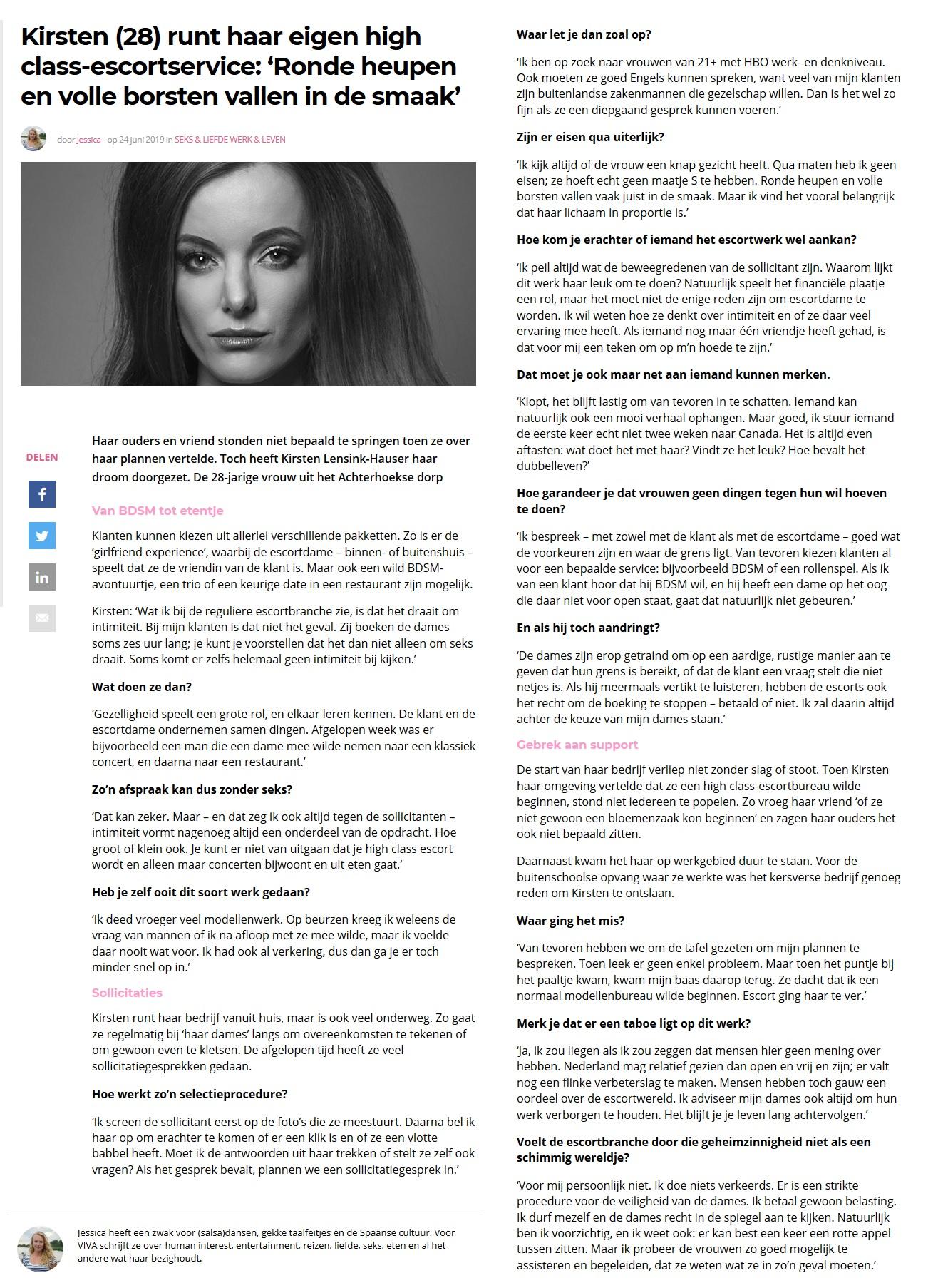Artikel KHLOÉ Consultancy - Viva